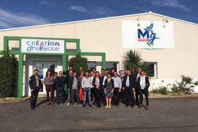 17/10/2017 Visite d'entreprise avec CELA (Club Entreprises Littoral Atlantique)