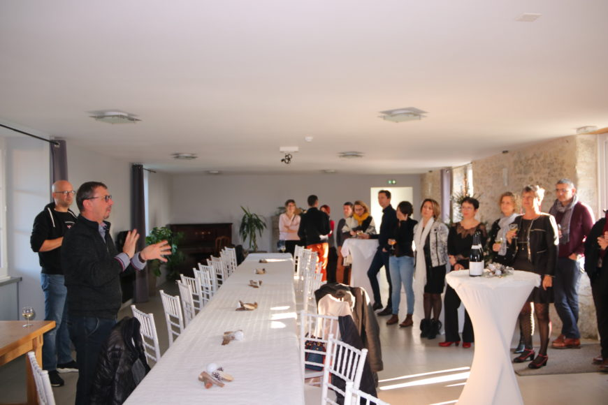 Visite d'entreprises avec le CELA